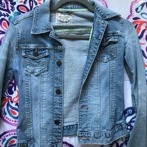 Vintage Abercrombie jean jacket